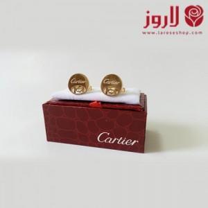 Cartier Cuff Buttons .. Golden Circle
