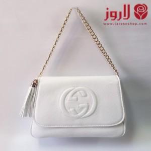 Gucci white bag