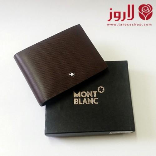 1fa917356 محفظة مونت بلانك Mont Blanc رجالي .. لون بني من لاروز - احدث عروض ...