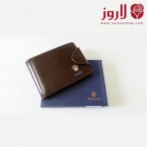 Rolex Wallet - Brown