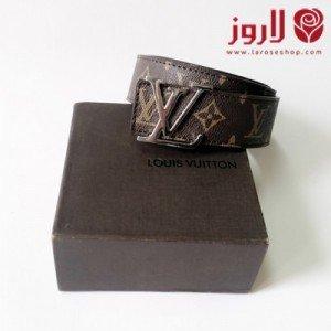 حزام لويس فيتون - بني